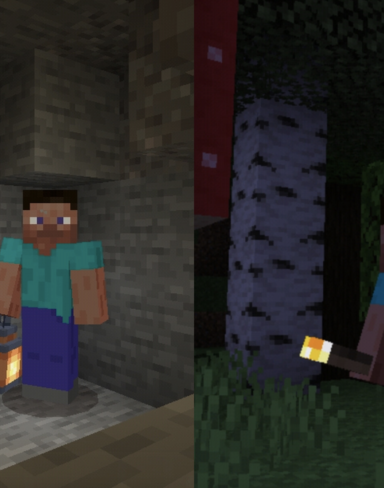 Текстурпак на Факел и Фонарь в 3D для Minecraft PE: 3D Torch Items and 3D Lantern Items