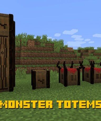 Большое количество Мобов-Тотемов: Агрессивное обновление для Minecraft PE